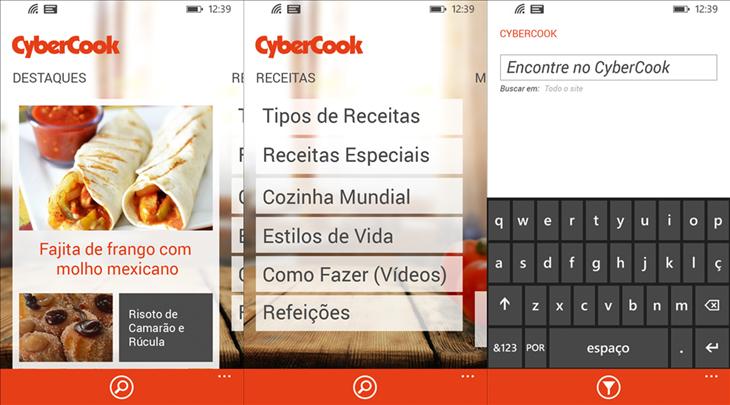 cybercook windows phone img1