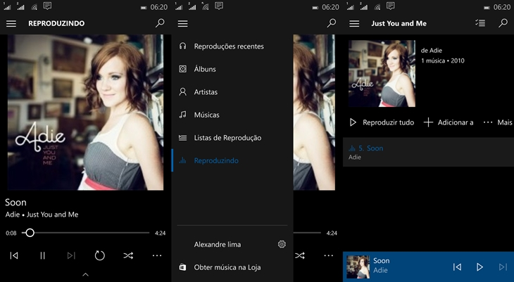 groove music windows 10 mobile