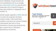 Windows 10 Mobile poderá contar com opção para abrir várias janelas de um mesmo app