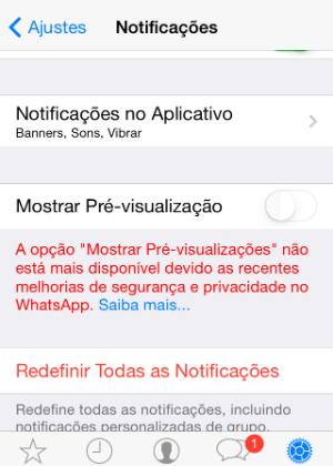 A mudança já começou para os usuários do iOS