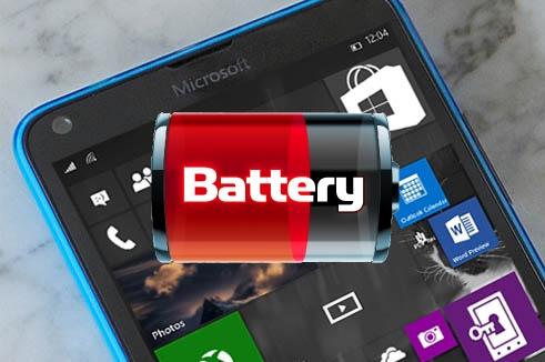 Windows 10 Mobile vs Consumo de bateria