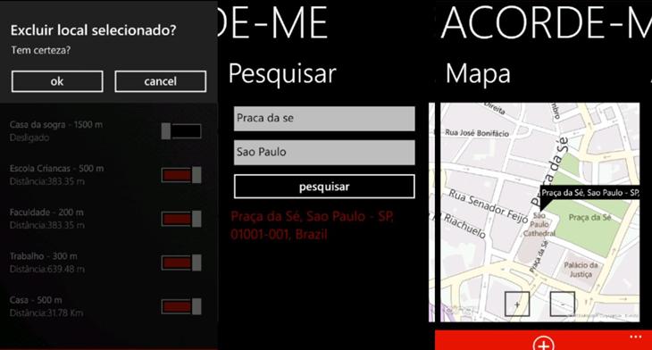 acordeme app windows phone img2
