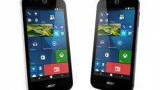 [Atualizado] Liquid M320 e M330 são os novos smartphones de entrada da Acer com Windows 10 Mobile