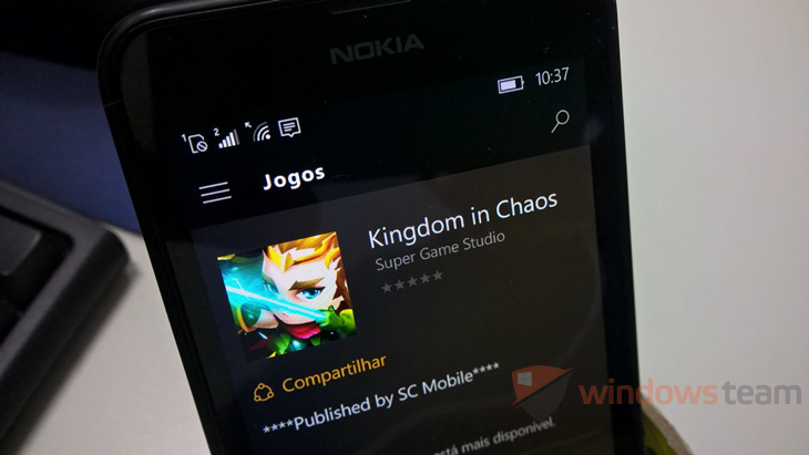 Kingdom in Chaos Windows Phone