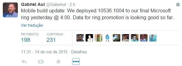 build 10536 1004 Windows 10 mobile