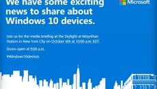 Microsoft confirma evento de lançamento do Surface Pro 4, novos Lumias e Microsoft Band 2 para começo de outubro