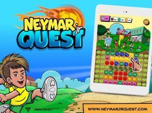 neymar jr quest jogo
