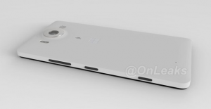 Imagem renderizada do Lumia 950