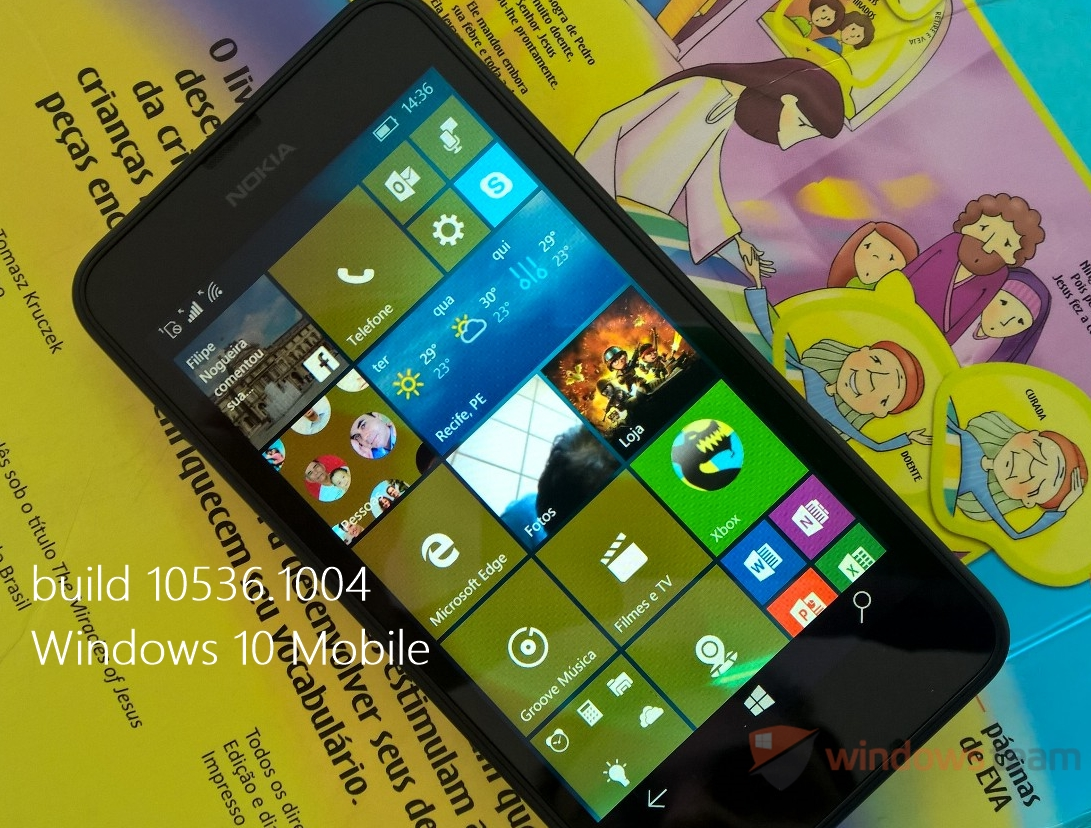 review build 10149 windows 10 mobile header