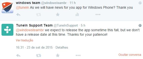 tunein novo app