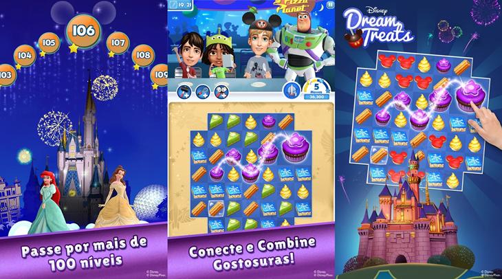 Dream Treats Match Sweets Windows Phone