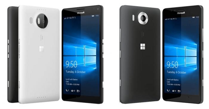 Lumia 950 e 950 XL Windows 10 Mobile