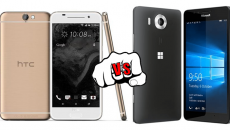 [Comparativo] Lumia 950 VS HT One A9