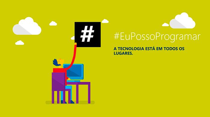 Microsoft disponibiliza curso gratuito de linguagem de programação para jovens de todo o Brasil