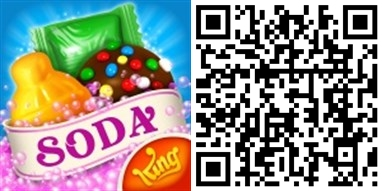 Candy Crush Soda Windows 10 QRCode-horz