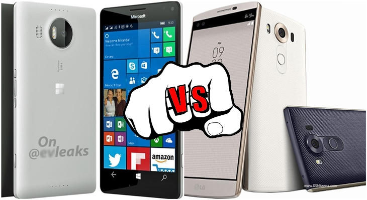 Comparativo LG V10 VS Lumia 950 XL header2