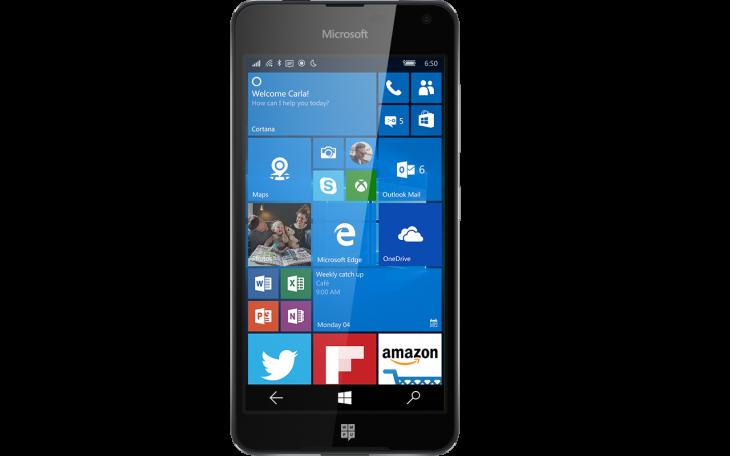 Suposto Lumia 650