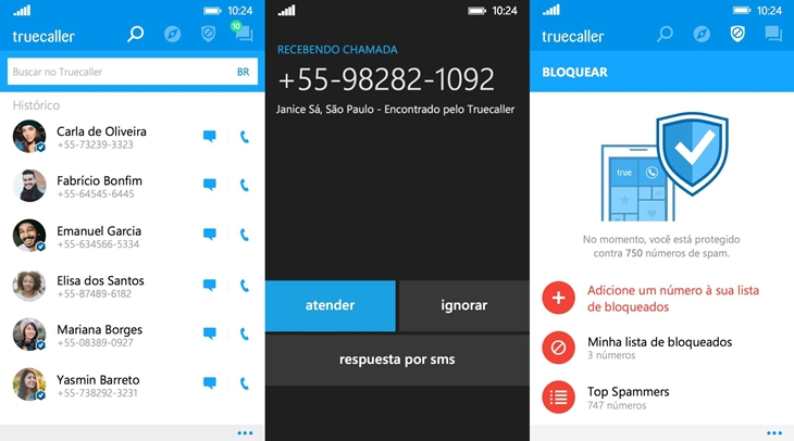truecaller windows phone img1