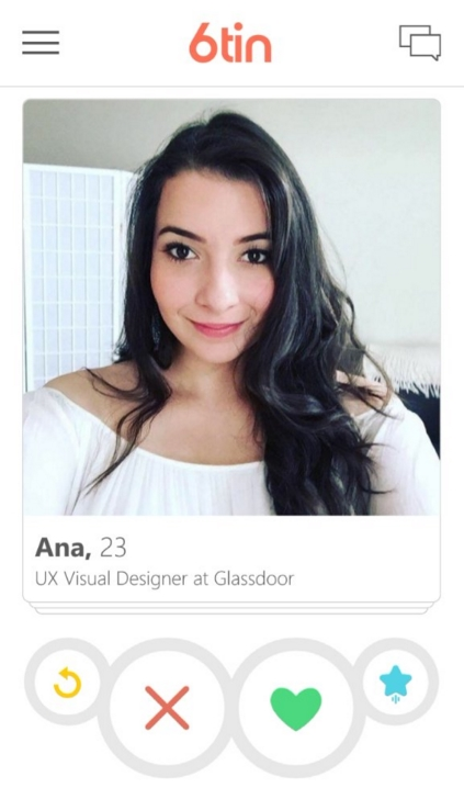 6tin perfil info extras tinder cliente