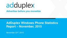 Novo relatório da AdDuplex tem dados do mercado brasileiros e mais…