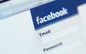 Facebook Senha alfanumerica