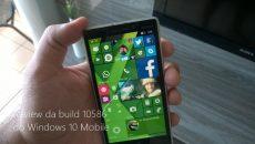 Liberada a build 10586 do Windows 10 Mobile em Anel Lento