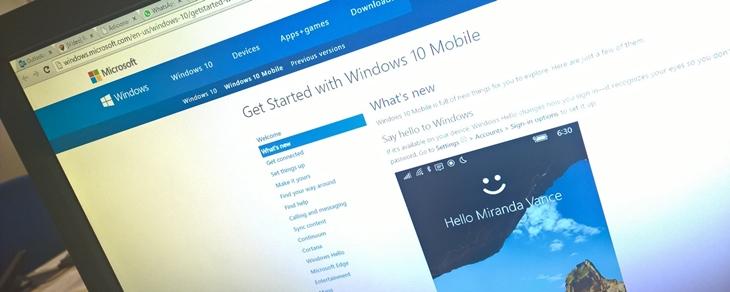 site microsoft windows 10 mobile