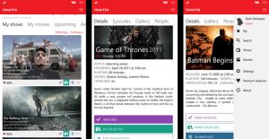 Trakter para smartphones com Windows 10 Mobile