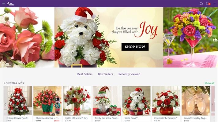 1800 flowers universal app Windows 10