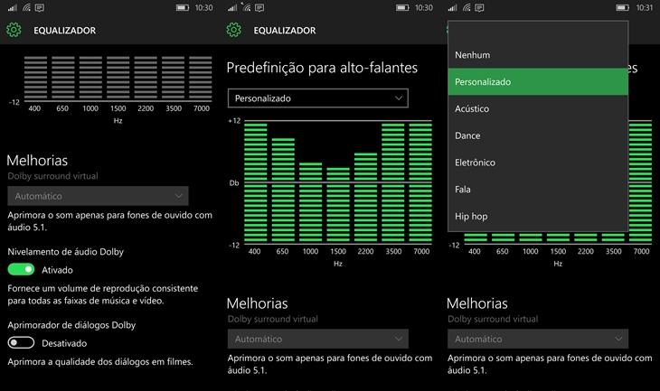 equalizador windows 10 mobile img1