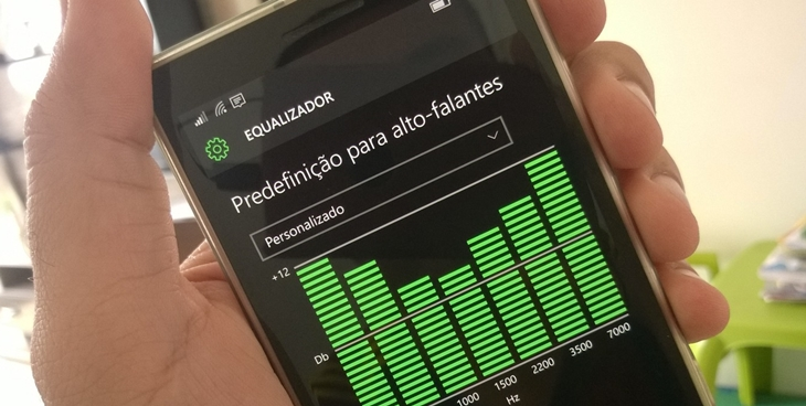 equalizador windows 10 mobile