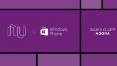 Nubank anuncia fim de suporte ao Windows Phone