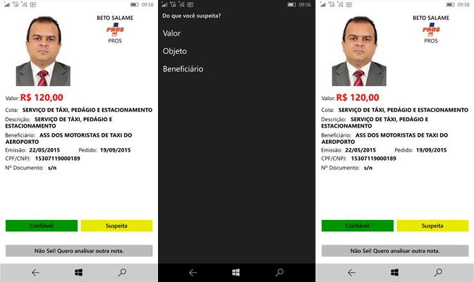OPS Fiscalize windows phone img6