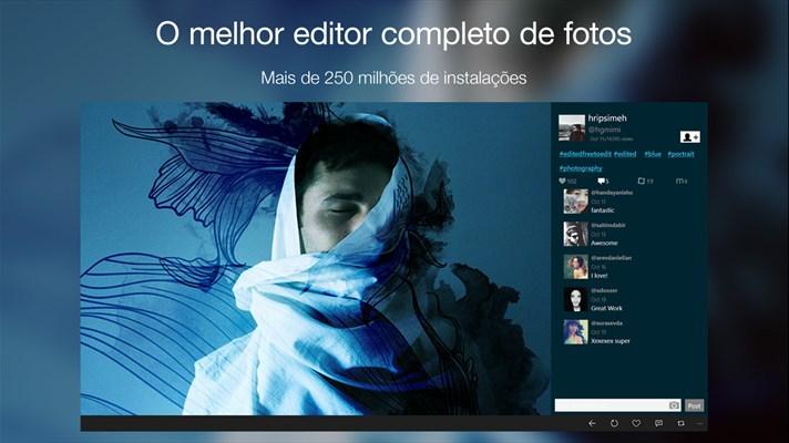 picsart app universal Windows 10