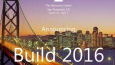 Ingressos para a conferência Build 2016 esgotam em 1 minuto