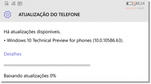 nova build 10586_63 windows 10 mobile preview