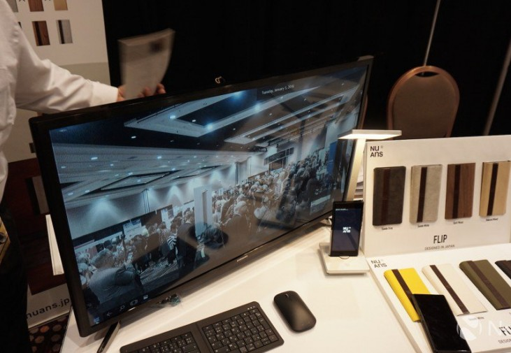 NuAns Neo Continuum for Phone CES 2016