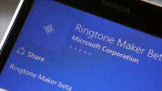 Novo Criador de Toques para Windows 10 Mobile acaba de ser lançado