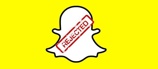snapchat windows phone rejeitado