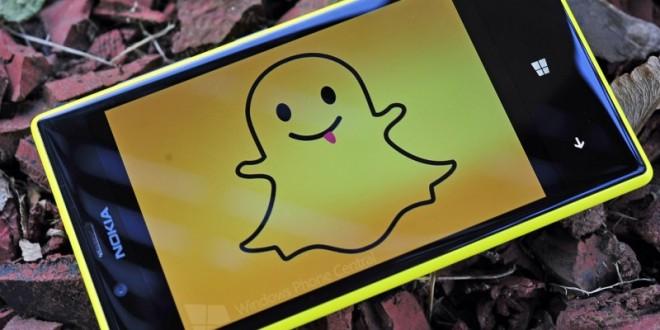 Perfil da Microsoft no Twitter afirma que o Snapchat para o Windows 10 Mobile está a caminho