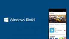 Versão de 64bits do Windows 10 Mobile está a caminho e isso é muito importante
