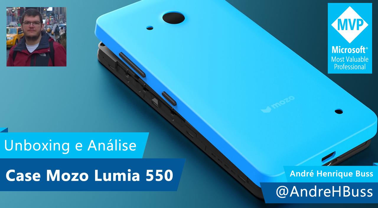 [Vídeo] Unboxing e Análise da Capa Mozo para o Microsoft Lumia 550