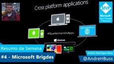 [Vídeo] Resumo da Semana #4 Microsoft Bridges #QueVenhamOsAPPs