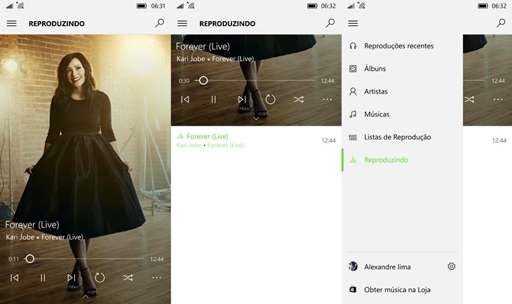 groove music windows 10 mobile img1