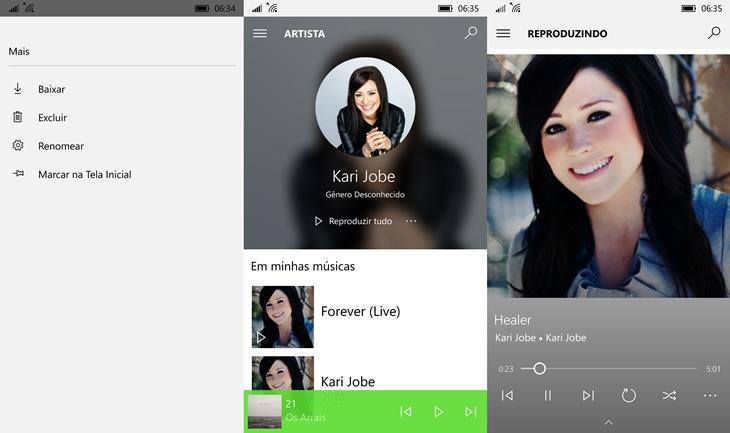 groove music windows 10 mobile img3