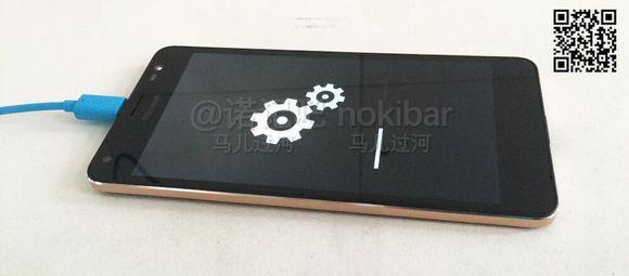 Imagem do suposto Lumia 850 vazada na semana passada, que na verdade é o Lumia 650 XL