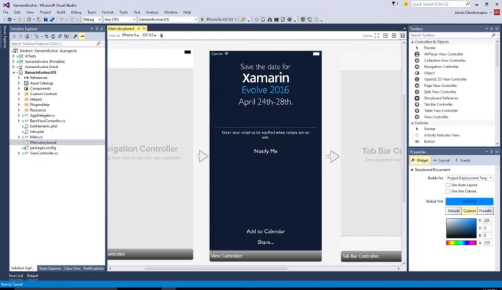 Com o Xamarin é possível criar aplicações para o Windows, iOS e Android ao mesmo tempo usando praticamente um único código