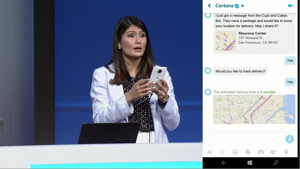 Cortana Skype