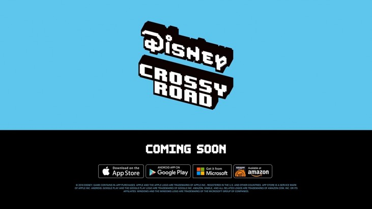 disney cross road windows phone