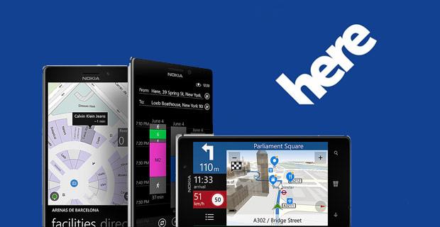 Microsoft expande a parceria com o HERE por vários anos para usar seus serviços de dados e plataforma de mapas